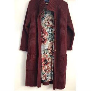 Vintage Le Roy Wool Cardigan